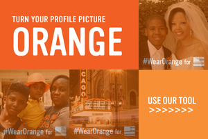 Turn Your Profile Picture Orange